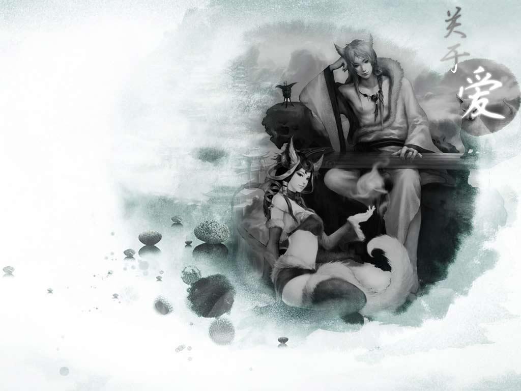 大话3最新唯美壁纸下载—- 大话西游3 - 叶子猪游戏乐园;; 黑白狐不
